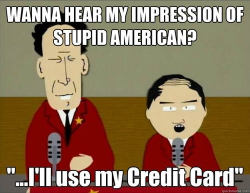 americans credit card debt