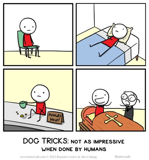dogs,tricks,web comics