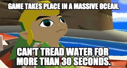 video game logic,zelda,wind waker