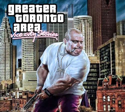 Canada,Grand Theft Auto,rob ford,video games