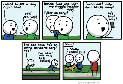 dogs,apps,corgis,web comics