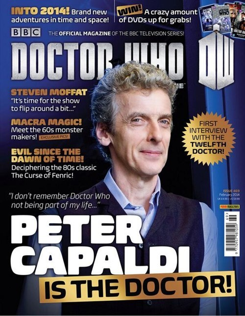 Peter Capaldi 12th Doctor doctor who - 7996678912