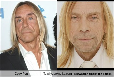 jan teigen,totally looks like,iggy pop