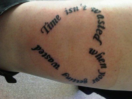 text wasted tattoos hearts - 7997099520