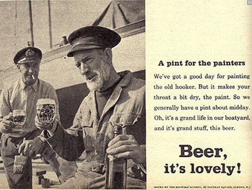 beer awesome ads lovely funny vintage - 7997317632