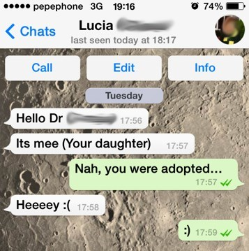 dads trolling text parenting - 7997329920