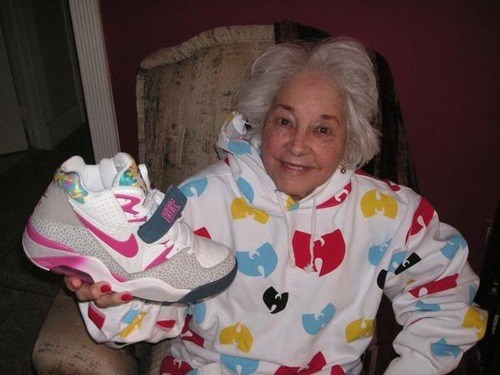 fashion,grandma