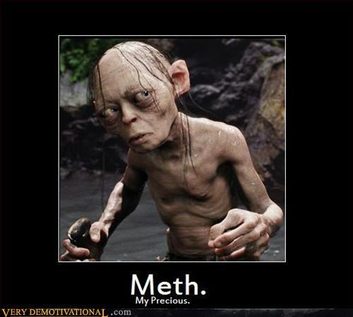 golum Lord of the Rings meth funny - 7997461248