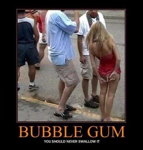Sexy Ladies wedgie bubblegum funny - 7997464320