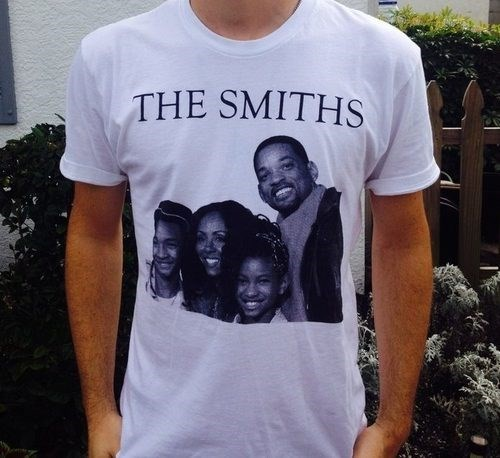 fashion,puns,shirt,will smith,the smiths