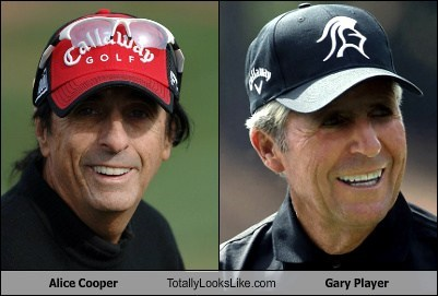 alice cooper,gary player,totally looks like