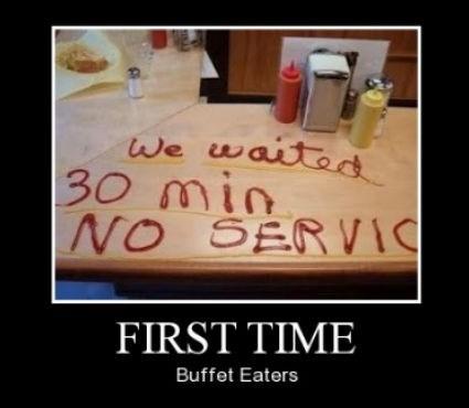 buffet,service,idiots,funny