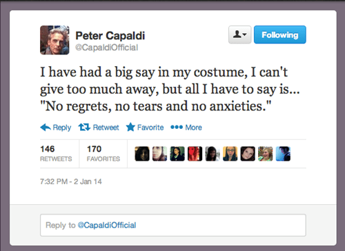 twitter Peter Capaldi 12th Doctor doctor who - 7997574144