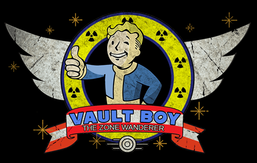crossover fallout vault boy sonic - 7997579520