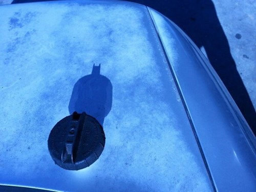 shadows batman silhouette gas cap - 7997603072