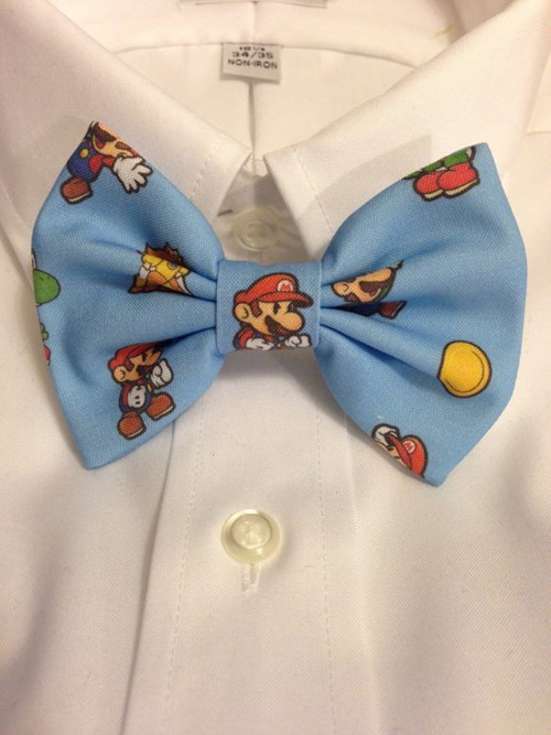 for sale ties bow ties video games Super Mario bros