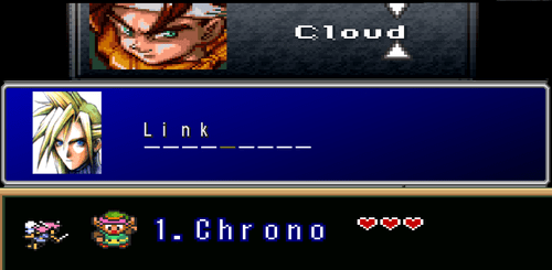 Chrono Trigger,names,video games,zelda,final fantasy VII