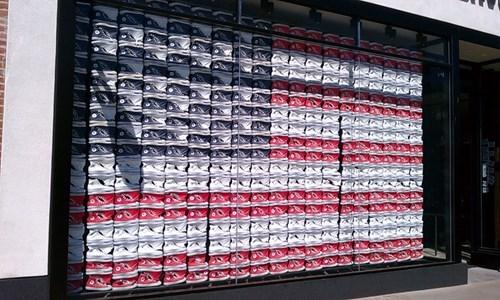 American Flag murica converse - 7997780480