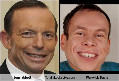 totally looks like tony abbott warwick davis - 7997787392