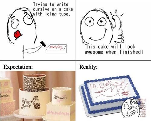 cakes,rage