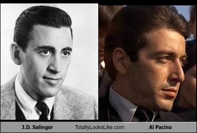 al pacino,JD,totally looks like,salinger
