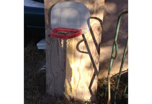 there I fixed it,plywood basketball hoop