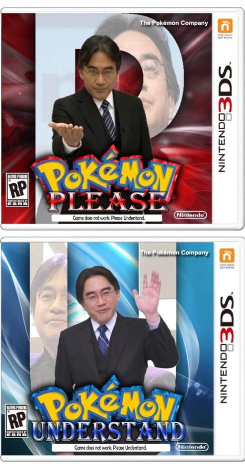 Pokémon please understand iwata boxart - 7998782208