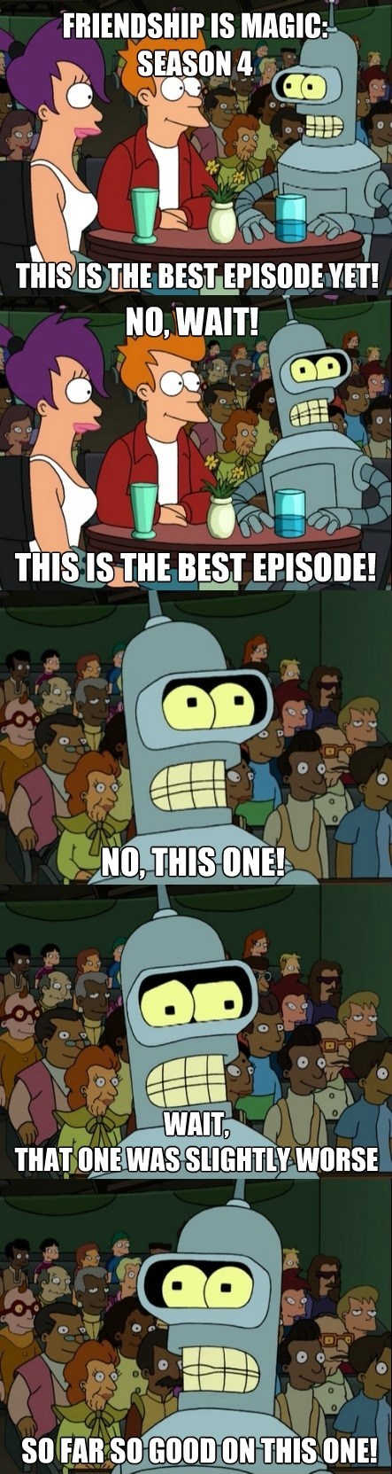 bender,best episode yet,mlp season 4