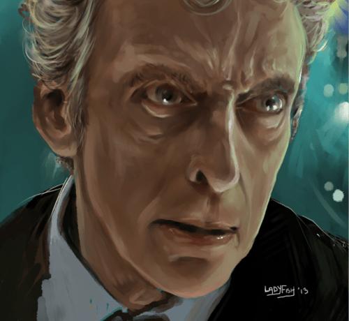 Peter Capaldi Fan Art 12th Doctor doctor who - 7999218944
