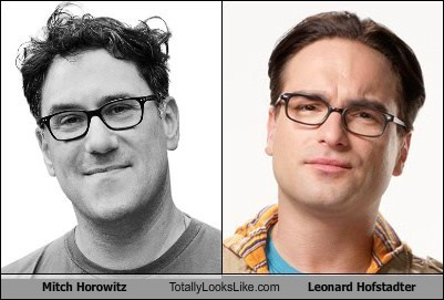 totally looks like mitch horowitz leonard hofstadter - 7999389952