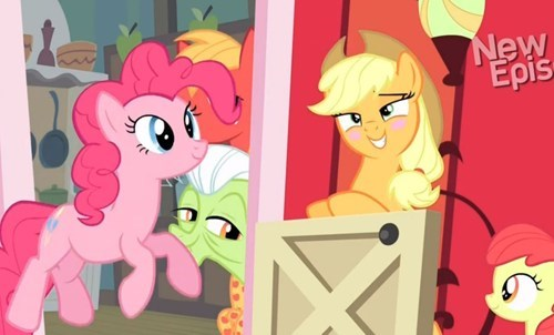 Applejack seems to.. Like this situation.