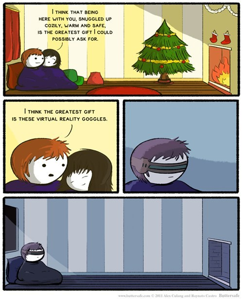 holidays sad but true virtual reality web comics - 7999454208