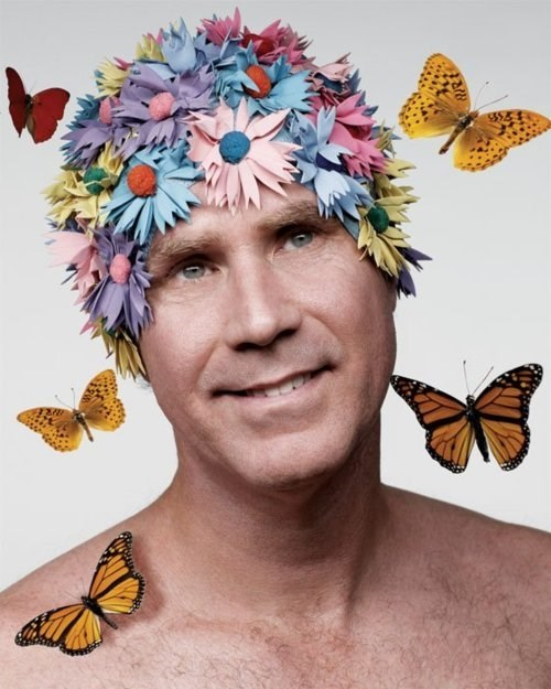butterfly flowers Will Ferrell - 7999757824