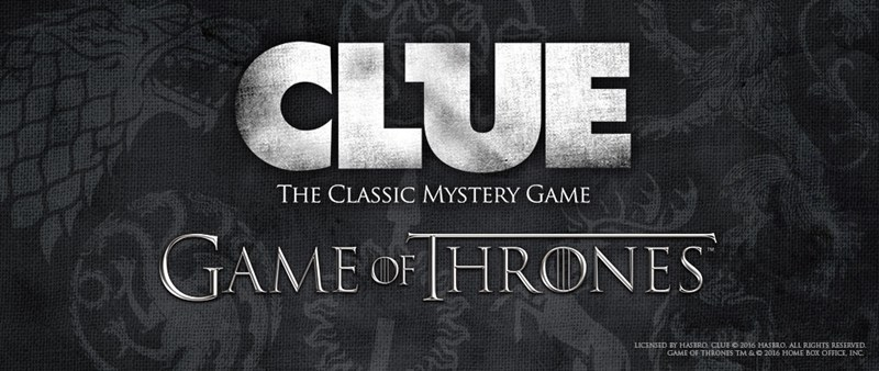 Game of Thrones,board games,mystery,clue