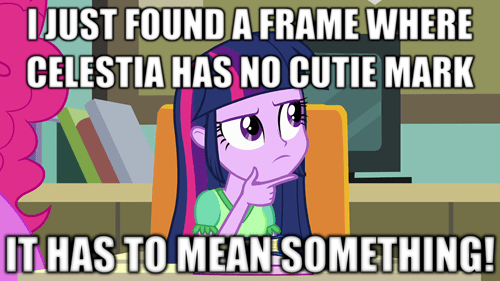 overanalyzing twilight twilight sparkle princess celestia - 8000514304