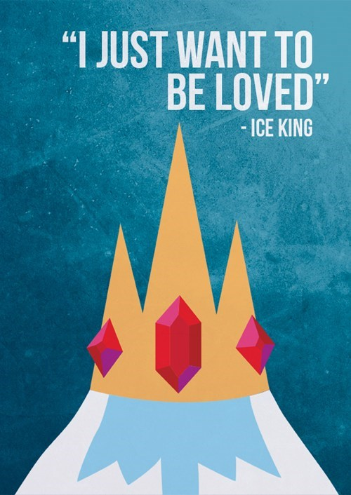 Fan Art cartoons ice king adventure time - 8000596992
