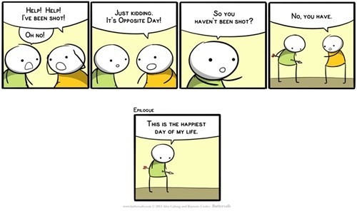 irony opposite day ouch web comics - 8001140224