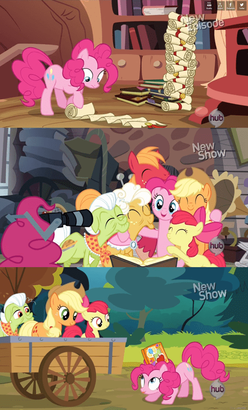 4th wall,pinkie pie,intensifies