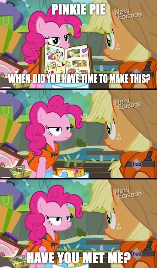 applejack,pinkie pie,scrapbooking