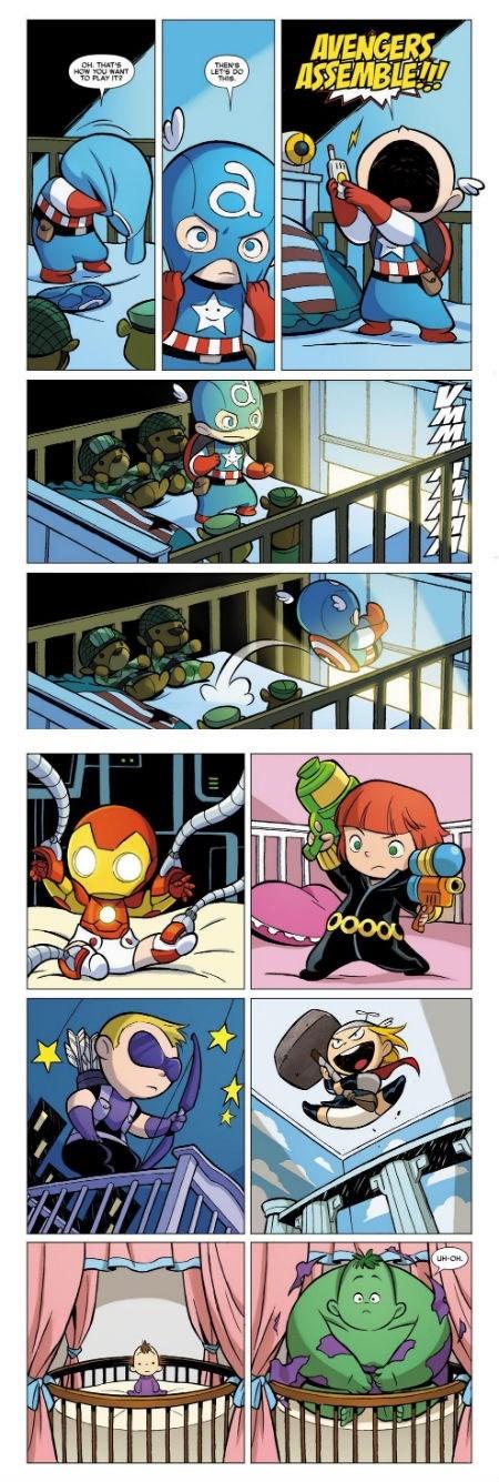 Babies avegners iron man captain america hulk - 8001595136