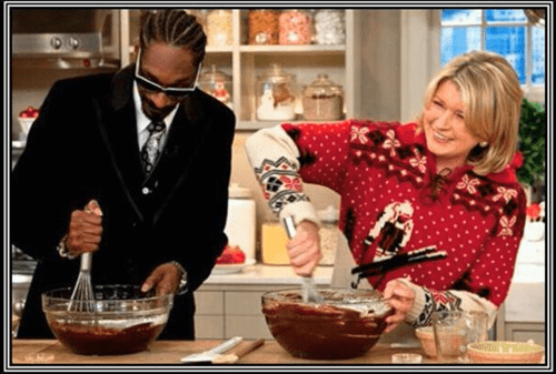 Martha Stewart,cooking,snoop dogg