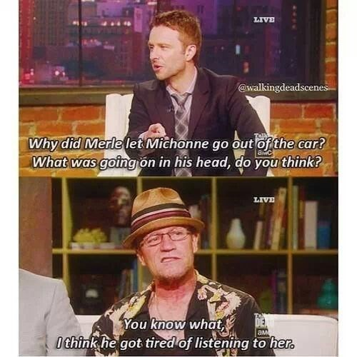 acting the talking dead Michael Rooker merle dixon - 8001665536