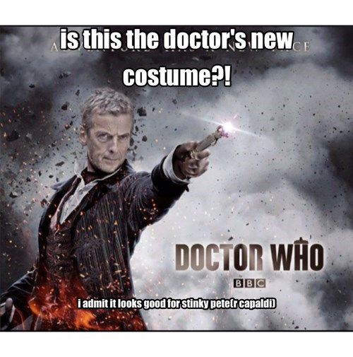Peter Capaldi 12th Doctor doctor who - 8001883392