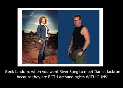doctor who Stargate daniel jackson River Song - 8001924352