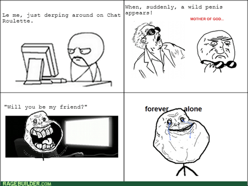 computer guy forever alone chatroulette - 8002091520
