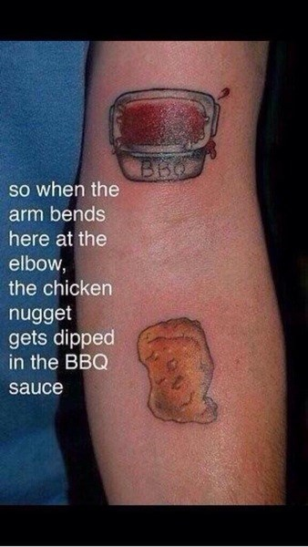 bbq,chicken,tattoos