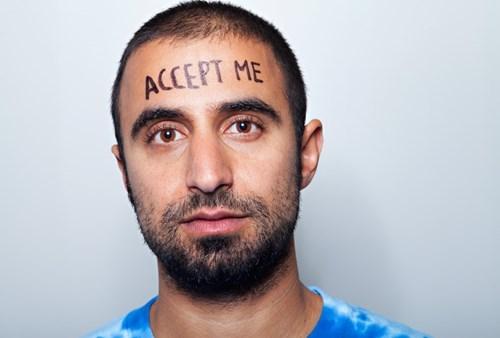 Facial hair - ACCEPT ME