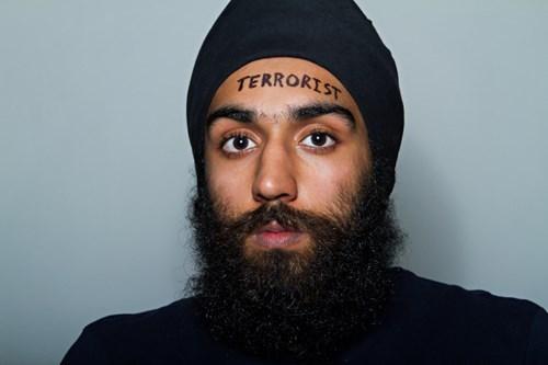Facial hair - TERRORIST