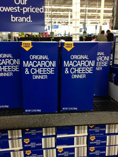 Is It Just Me, Or Does Walmart's New Mac 'n' Cheese Dinner Package Look Like Food Straight Out of a Post-Apocalyptic Novel?