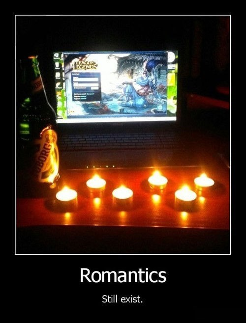 beer romance video games funny candlelight - 8002351872